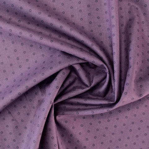 Printed Cotton Purple Blender - Arwen