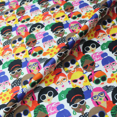 Dressmaking Novelty Cotton Printed - Spexs Appeal