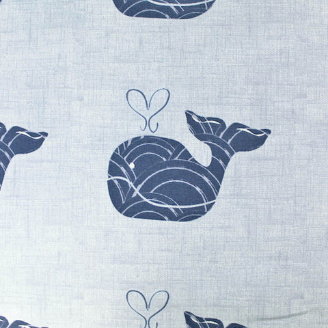 Whale Of a Time Home Furnishing Fabric