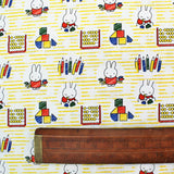 Printed Novelty Cotton - Miffy Goes to School