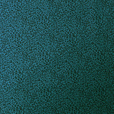 Cotton Leopard Print Fabric - Petrol