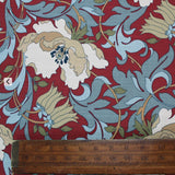 Red Poppy Home Furnishing Fabric