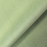 Printed Tiny Pinstripe Green Cotton - Dick