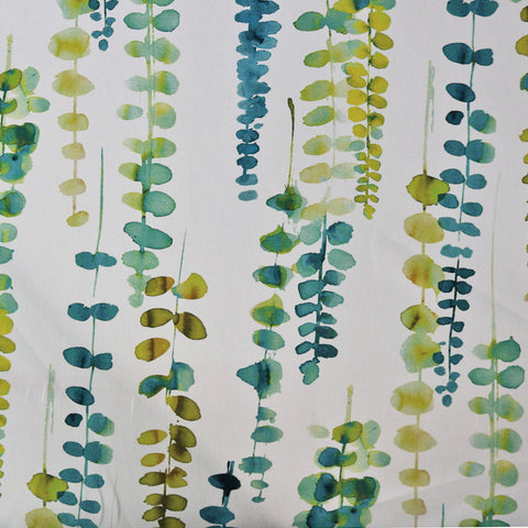 Vines Home Furnishing Fabric - Greens