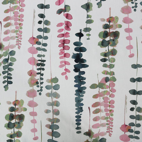 Vines Home Furnishing Fabric - Pinks