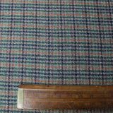 Wool Check - Dr John Watson - Grey with Orange, Navy and Green