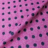 Dressmaking Reversible Wool Spot - Mrs Hudson