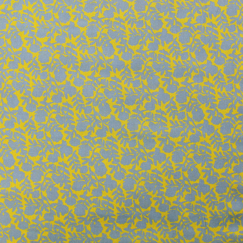 Liberty Cotton Lawn Floral - Dawn Dream - Yellow and Grey