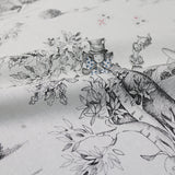 Alice in Wonderland Sketch Home Furnishing Fabric - Aux Pays Des Merveilles by Maison THEVENON Paris