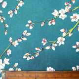 Apple Blossom Cotton Panama Home Furnishing Fabric