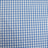 Corded Gingham - Blue