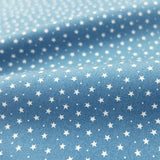 Stars and Spots Cotton - Blue