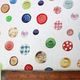 Buttons and Buttons Home Furnishing Fabric