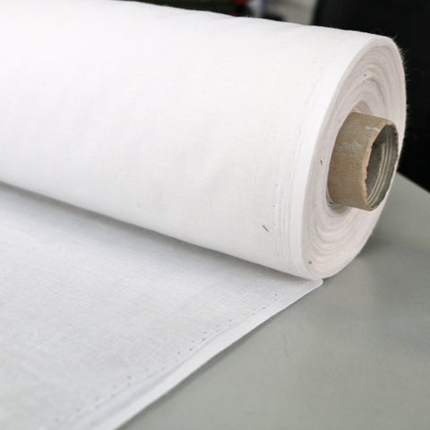 Lightweight Cotton Interfacing - White
