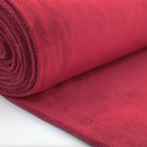Polar Fleece -  Claret