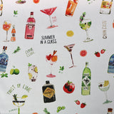 Summer In A Glass Home Furnishing Fabric