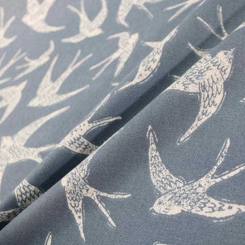 Swallow Home Furnishing Fabric - Blue