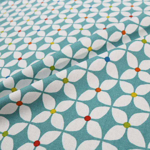 Iris Home Furnishing Fabric - Teal