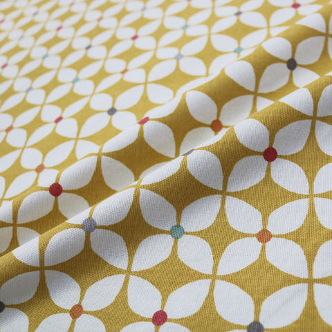 Iris Home Furnishing Fabric - Mustard