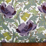 Purple Poppy Home Furnishing Fabric