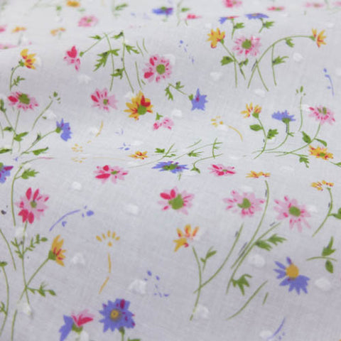 Floral Swiss Knot Cotton