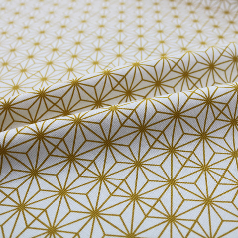 Technical Stars Home Furnishing Fabric - Mustard