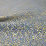 Metallic Linen Home Furnishing Fabric - Pacific