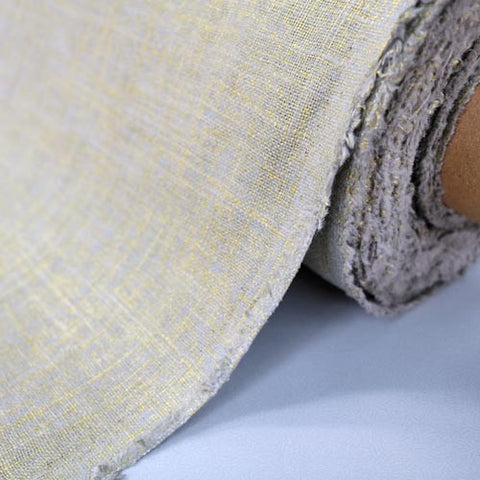 Metallic Linen Home Furnishing Fabric - Hessian