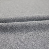 1x1 Circular Marl Cotton Elastane Ribbing - Pale Grey