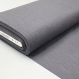 Dressmaking Washed Linen - Dark Pewter Grey