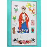 L'artista con Alma Frida Panel Print Cotton by Alexander Henry