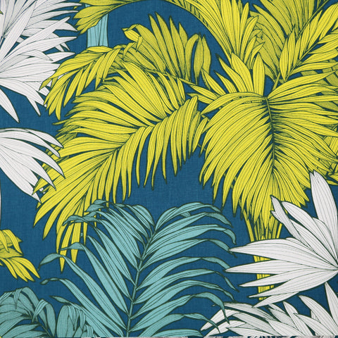 Big Palm Cotton Panama Home Furnishing Fabric