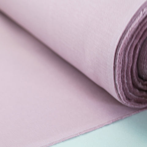 Brushed Panama Weave Plain - Heather