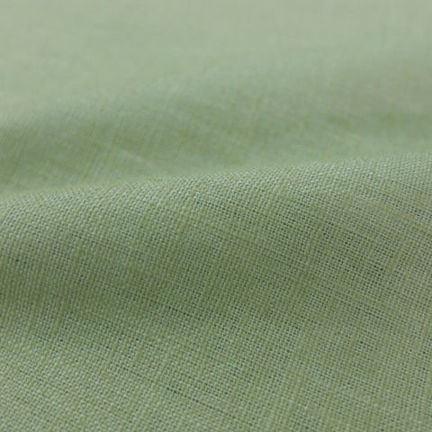 Dressmaking Washed Linen  - Spring Green