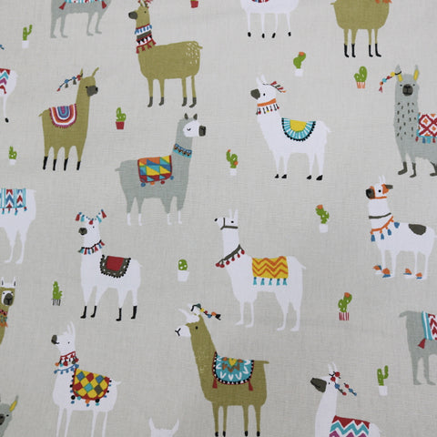 Alpaca Army Home Furnishing Fabric