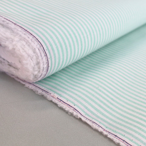 Chambray - Mint - Stripe