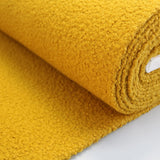 Boucle Coating Fabric - Mustard