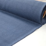 Brushed Panama Weave Home Furnishing Fabric - Navy