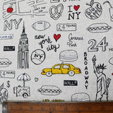 New York, New York! Home Furnishing Fabric