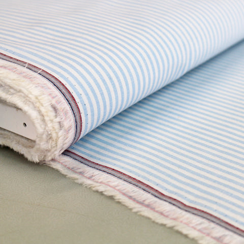 Chambray - Pale Blue - Stripe