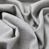 Washed Linen - Dove Grey