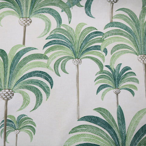 Palm Tree Home Furnishing Fabric- Green