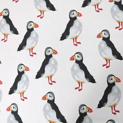 Puffin Home Furnishing Fabric - White