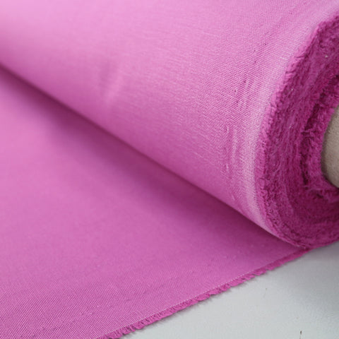 Brushed Panama Weave Home Furnishing Fabric - Sorbet