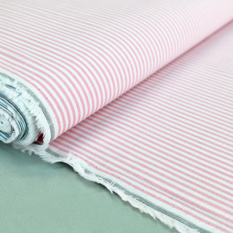 Chambray - Pink - Stripe
