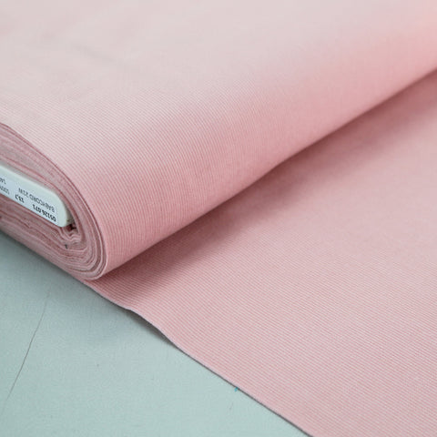 Cotton Needlecord - Pastel Pale Pink