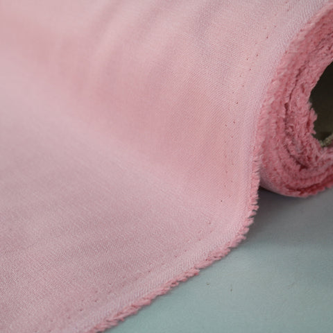 Brushed Panama Weave Home Furnishing Fabric - Peony