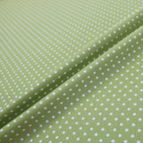 Polka Dot Cotton - Green