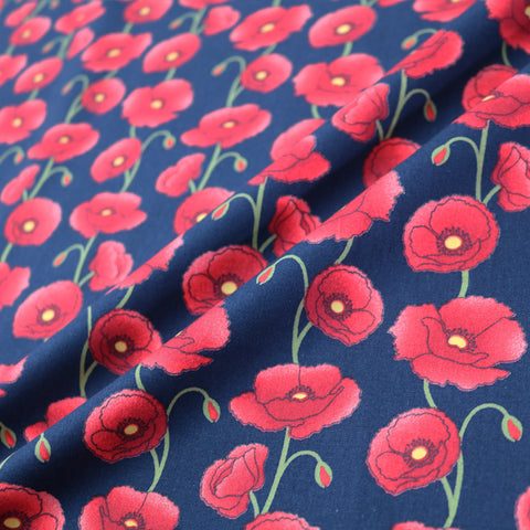 Poppy Chain Cotton