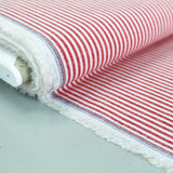 Chambray - Red - Stripe